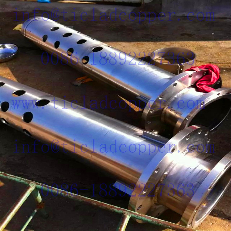 Titanium Valve / Stainless Steel Bottom Valve