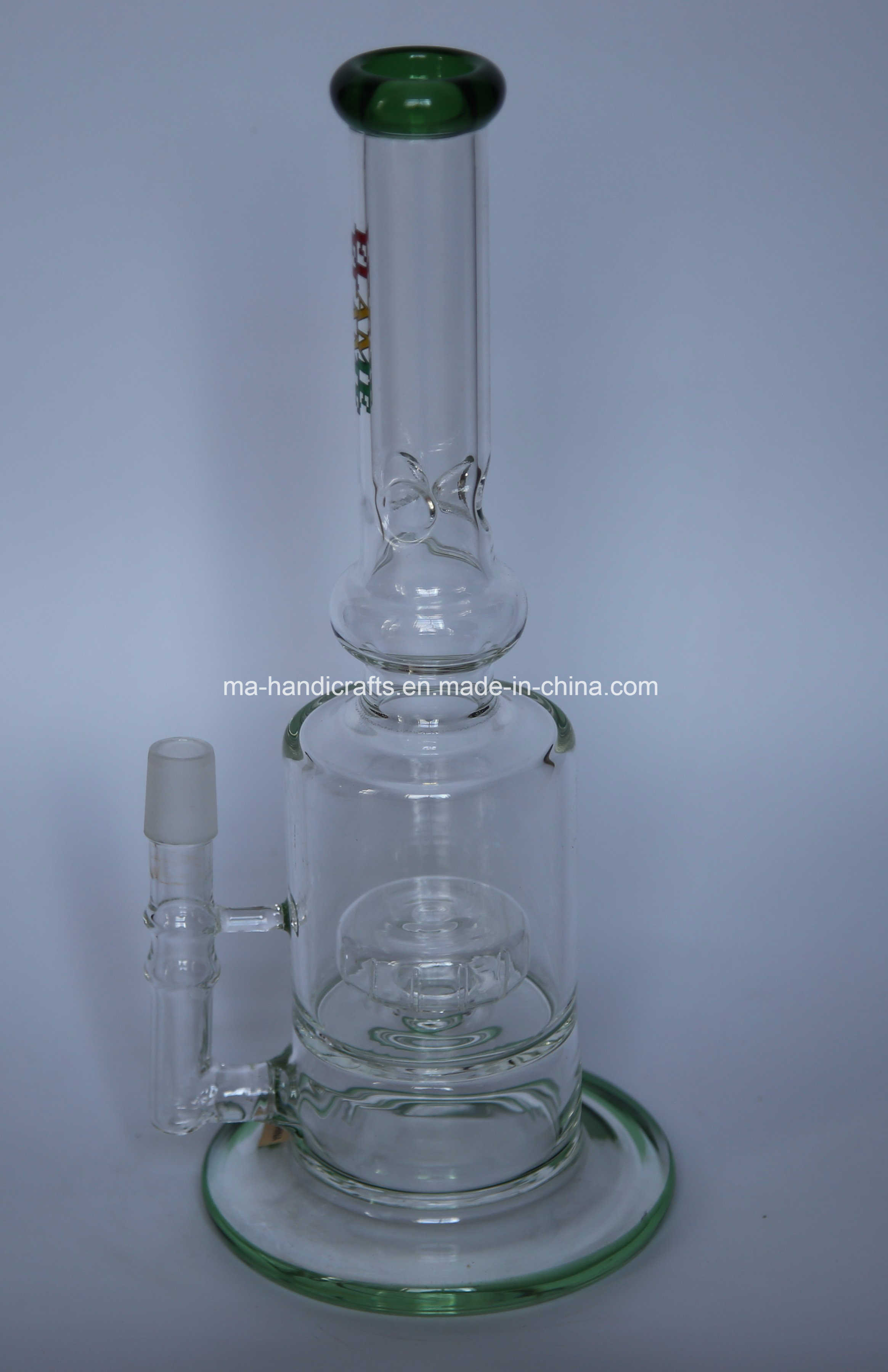 """12"""" Boro Glass Water Pipes with Matix Perc"""
