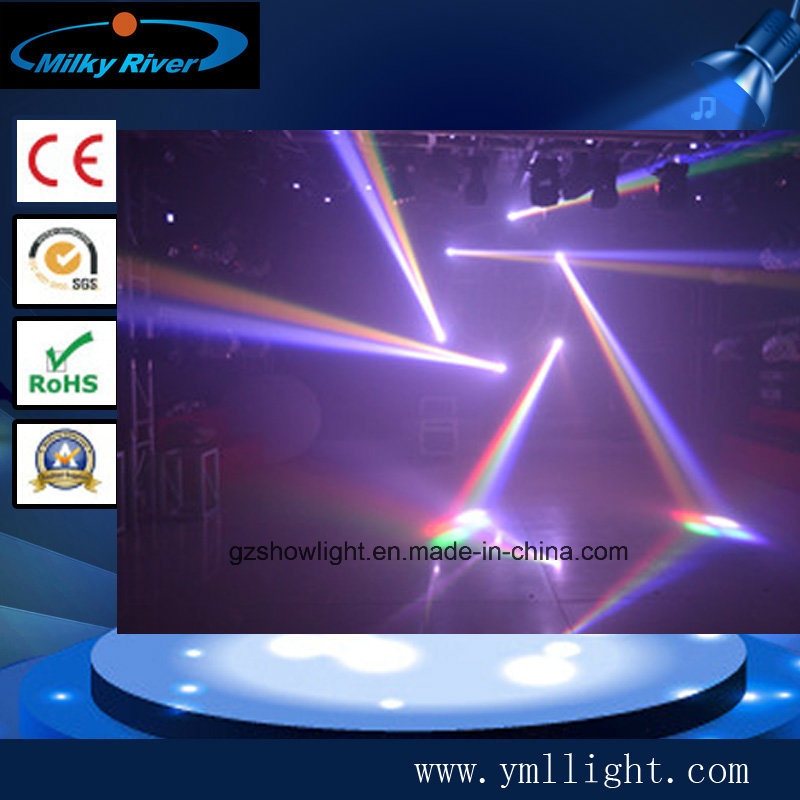 New Double Face LED Mini Beam Wash Moving Head Light