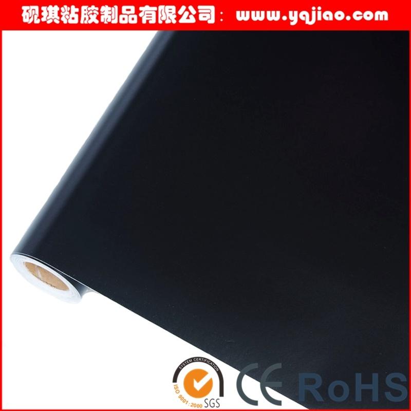 PVC Matt Black Vinyl Sticker Film for Aluminum Glass Protection
