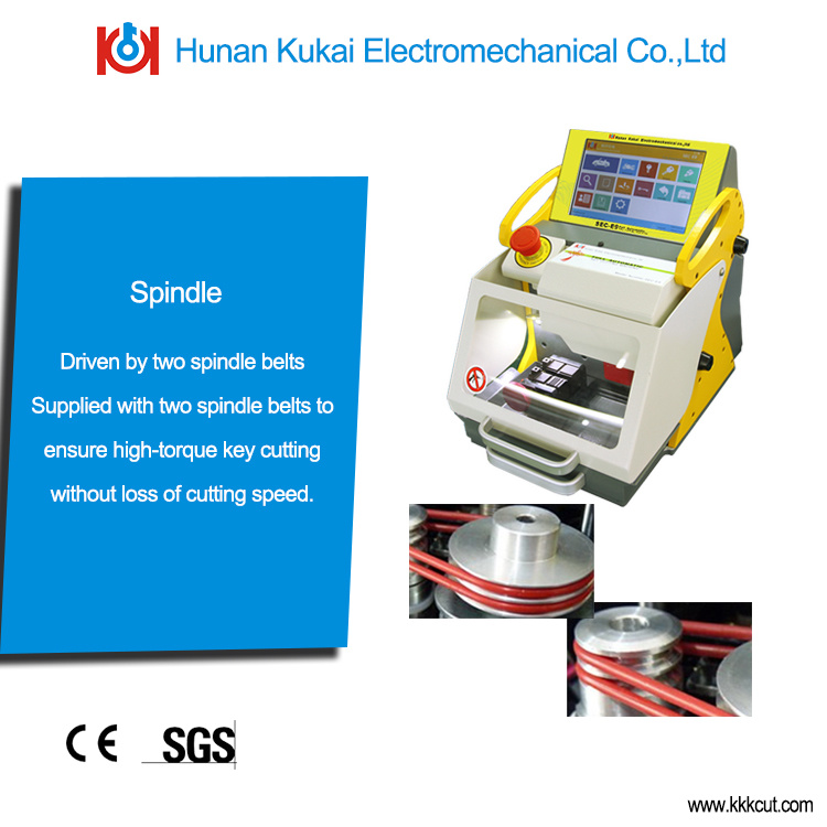 Hot Promotion for New Sec-E9 Key Cutting Machine Automobile and Household Used Car Key Copy & Cutting Machine