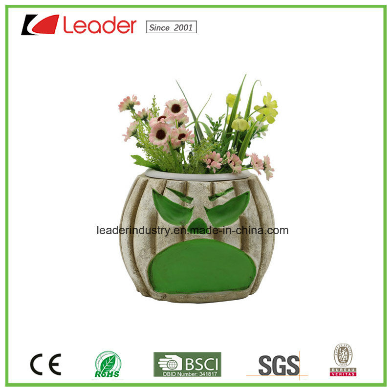 Decorative Polyresin Skull Flowerpots for Home and Garden Decoration