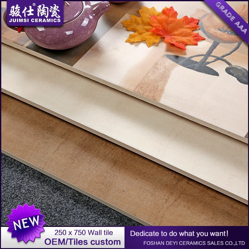 2017 China Wholesale Market Hot Selling 250*750 Ceramic Wall Ceramic Tiles Wall