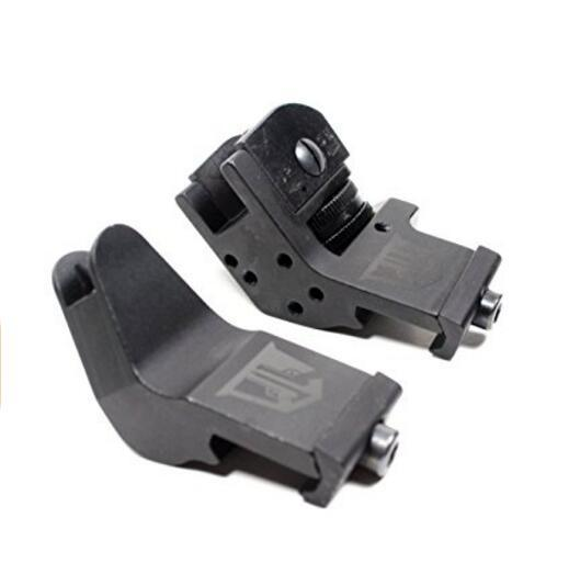 45 Degree Offset Backup Iron Sights for Ar15 Rifles Picatinny Mount