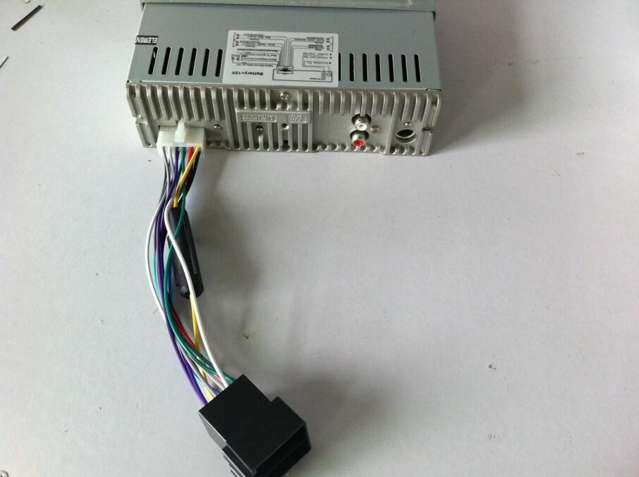 Car MP3 with TF USB Aux FM Am 4*50W