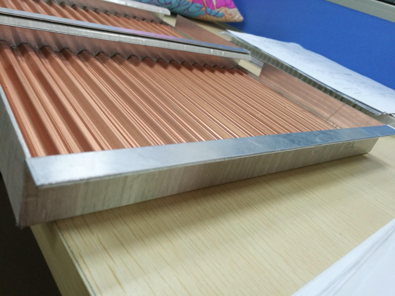Perforated Decorative Aluminum Corrugated Ceiling Tiles