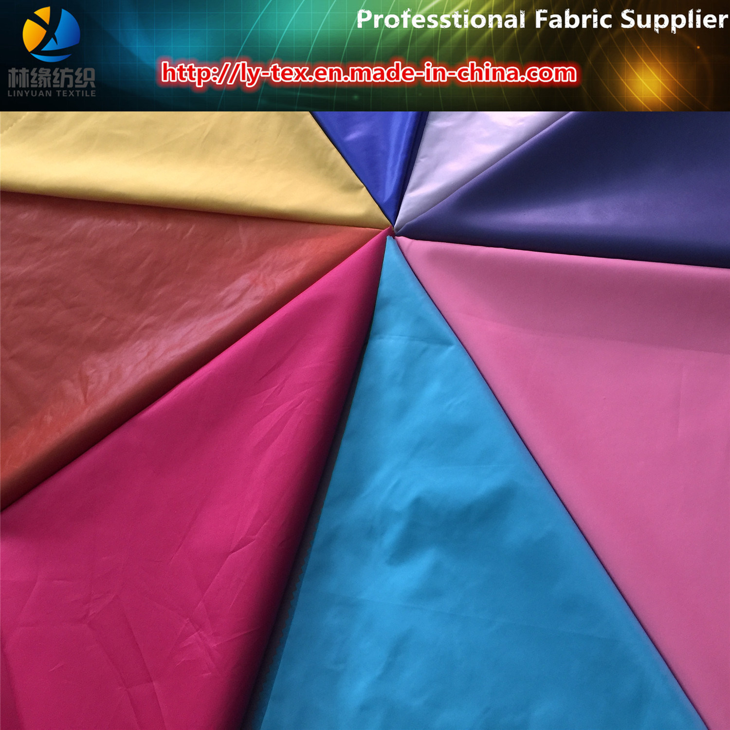 380t Polyester Taffeta, High Density Polyester Fabric for Garment