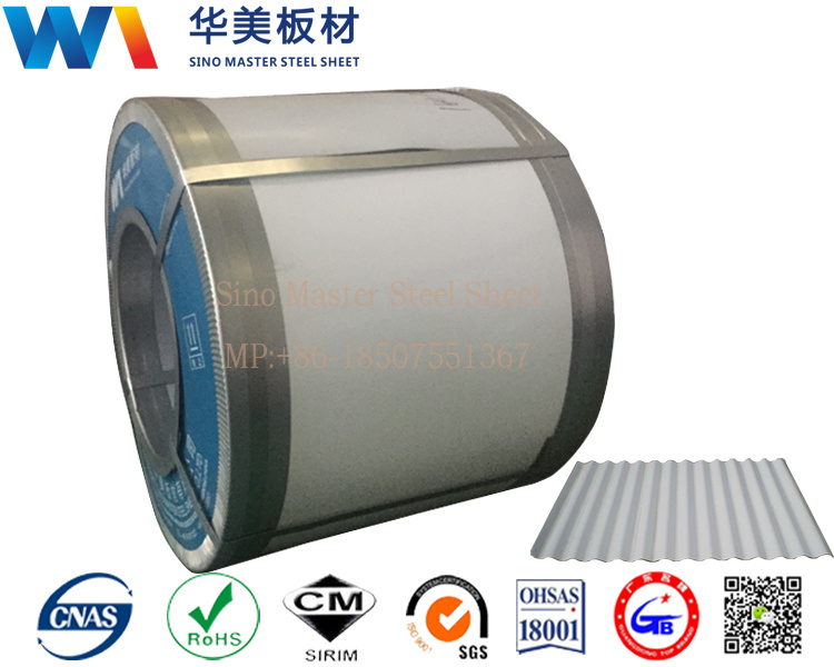 Green Color Roofing Steel Material PPGI