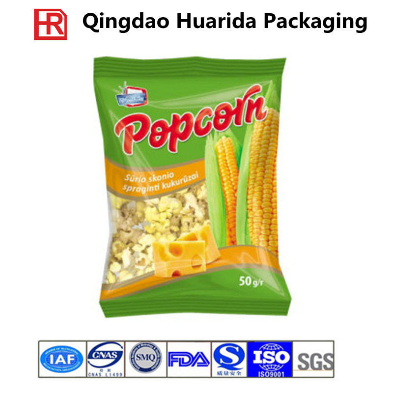 Stand up Nuts Food Zipper Packaging Bags