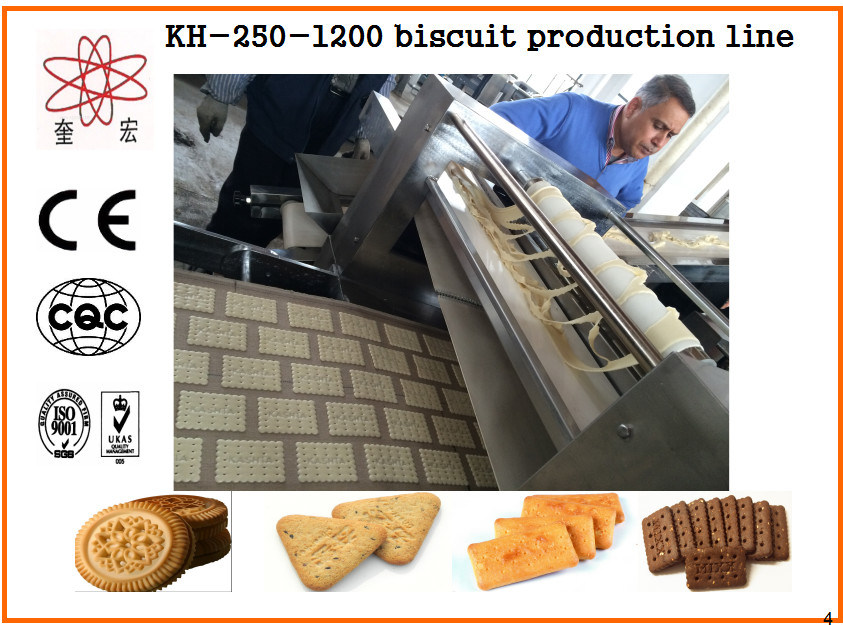 Kh Automatic Biscuit Machine for Biscuit Factory