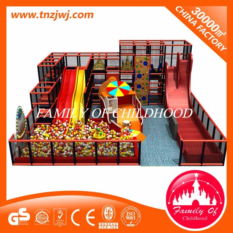Luxury Amusement Park Soft Play Equipment Indoor Playground with Ball Pool