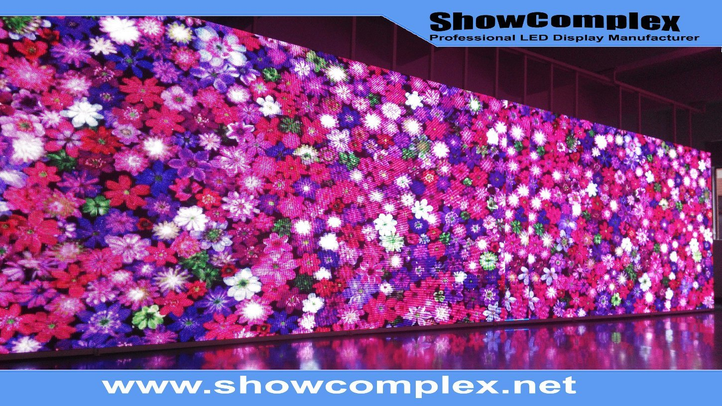 High Refresh Rate of Full Color P3.9 Indoor LED Billboard for Advertising