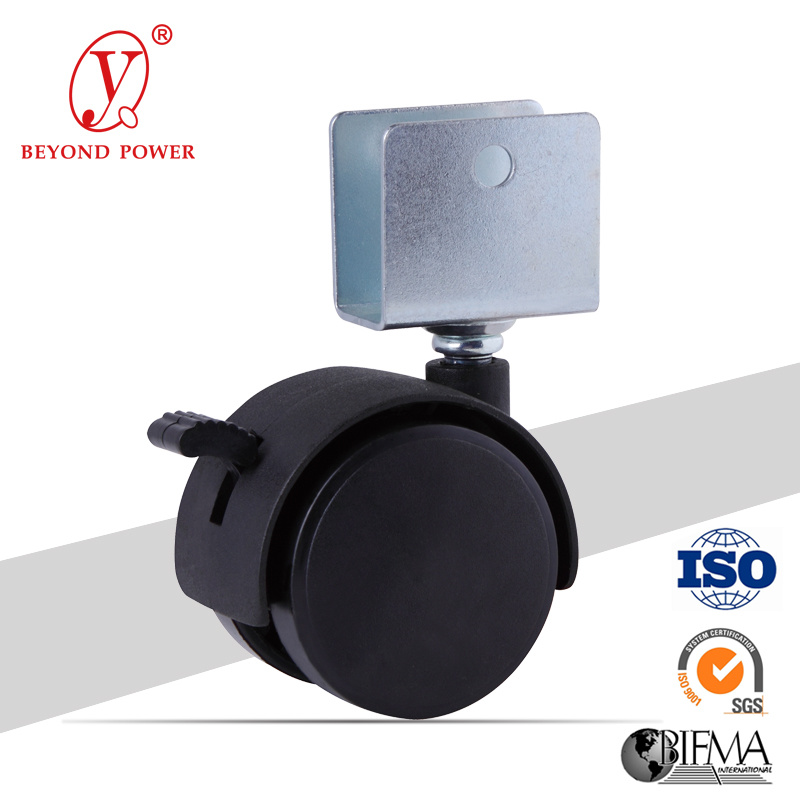 50mm Office Chair Wheel Castors Casters Furniture Spare Parts From Castor Wheel Factory Chair Caster Bracket Wheel Caster