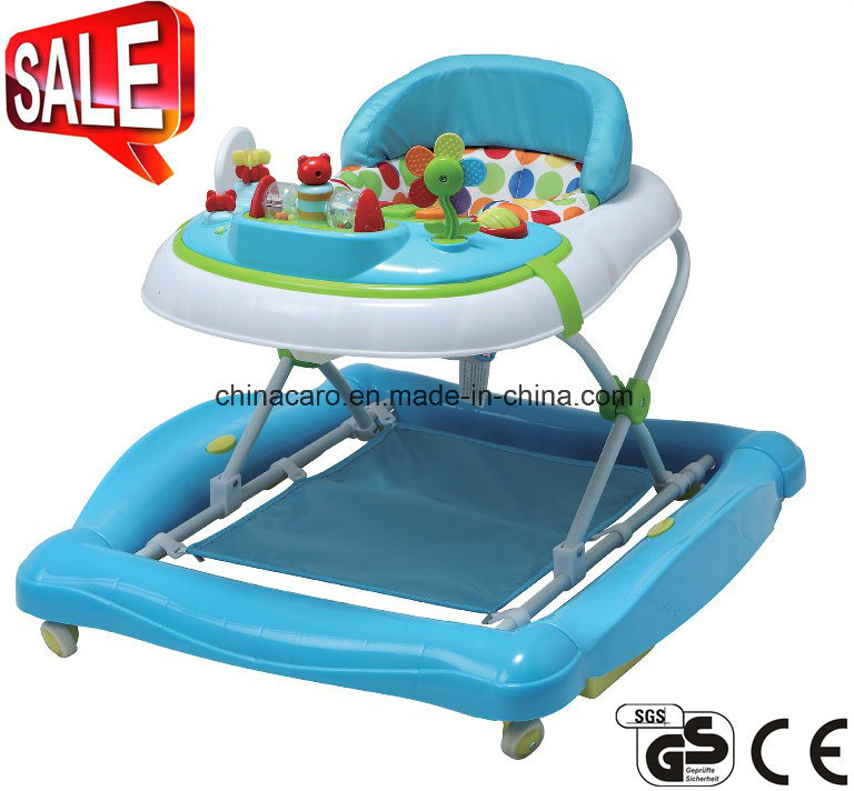 2017 New Model Foldable Baby Walker with Toys (CA-BW201)