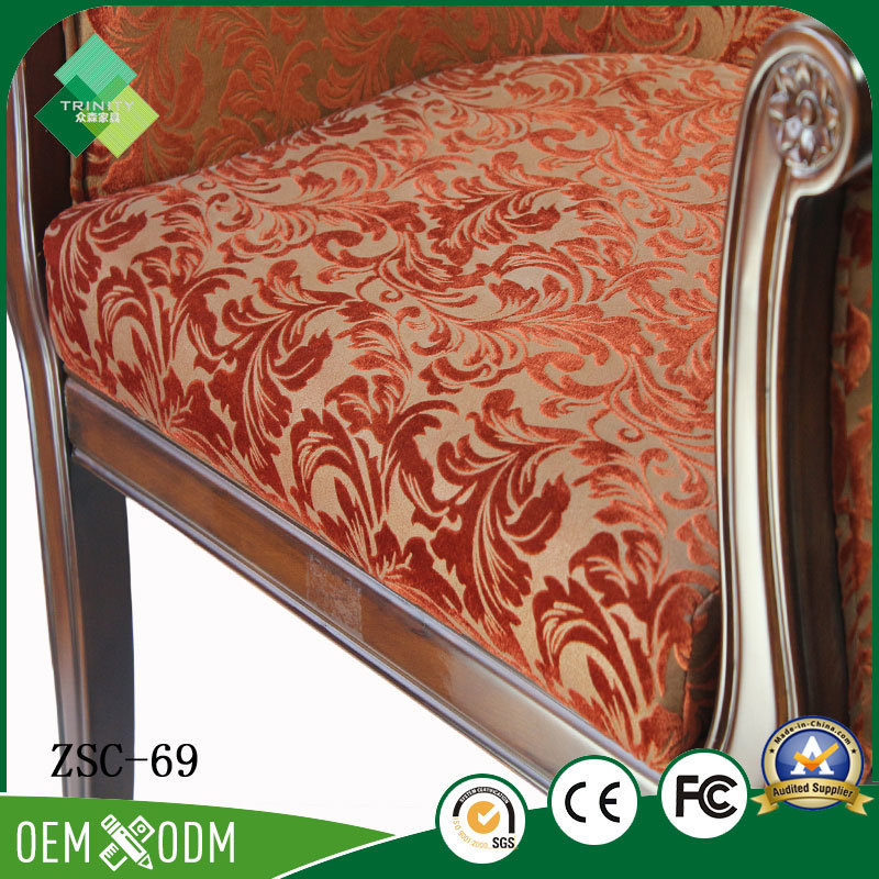 New Classic Italian Chair for Bedroom in Beech (ZSC-69)