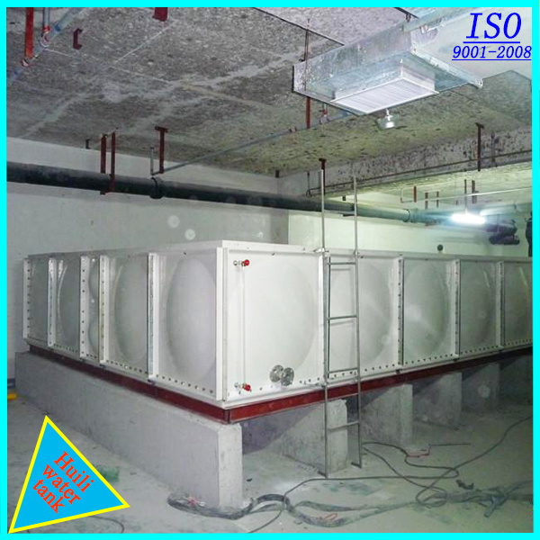 GRP SMC FRP Plastic Water Tank with ISO