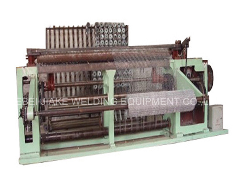 Low Price Straight and Reverse Twisted Hexagonal Wire Netting Machine