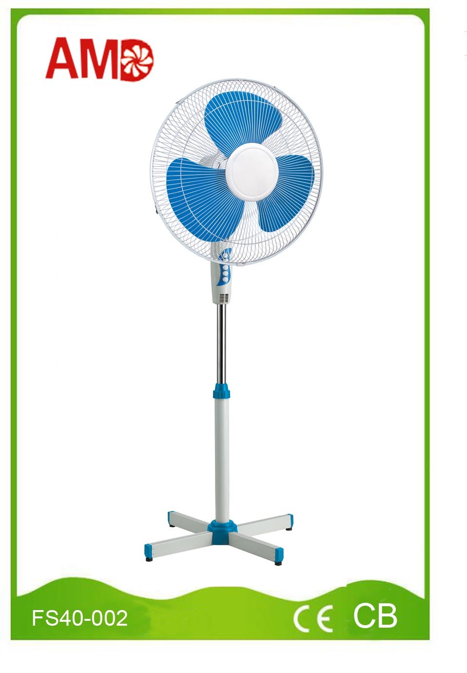 The Cheapest Hot-Sale Stand Fan with Light (FS40-002)