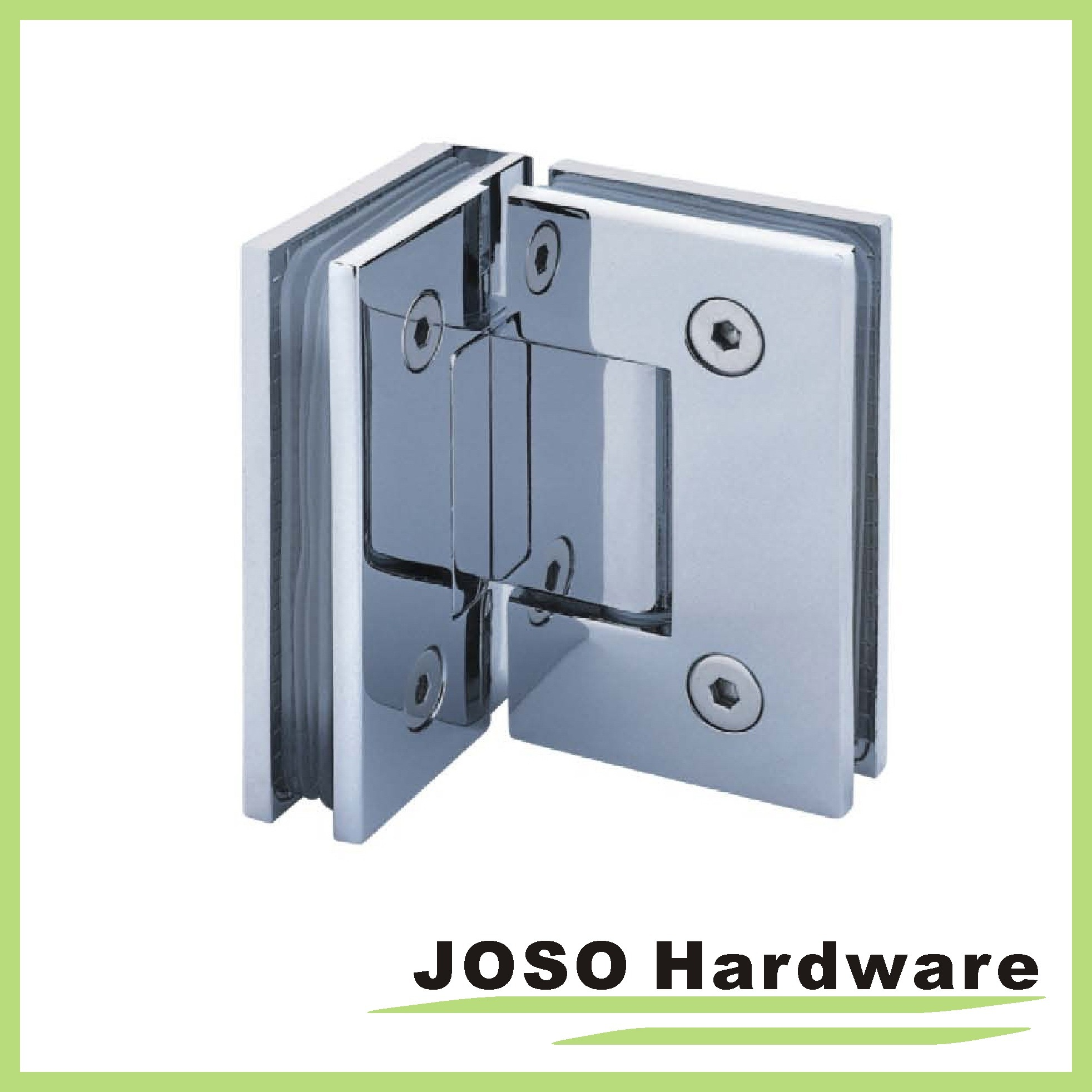 90 Degree Glass to Glass Brass Mount Shower Hinge Bh2004