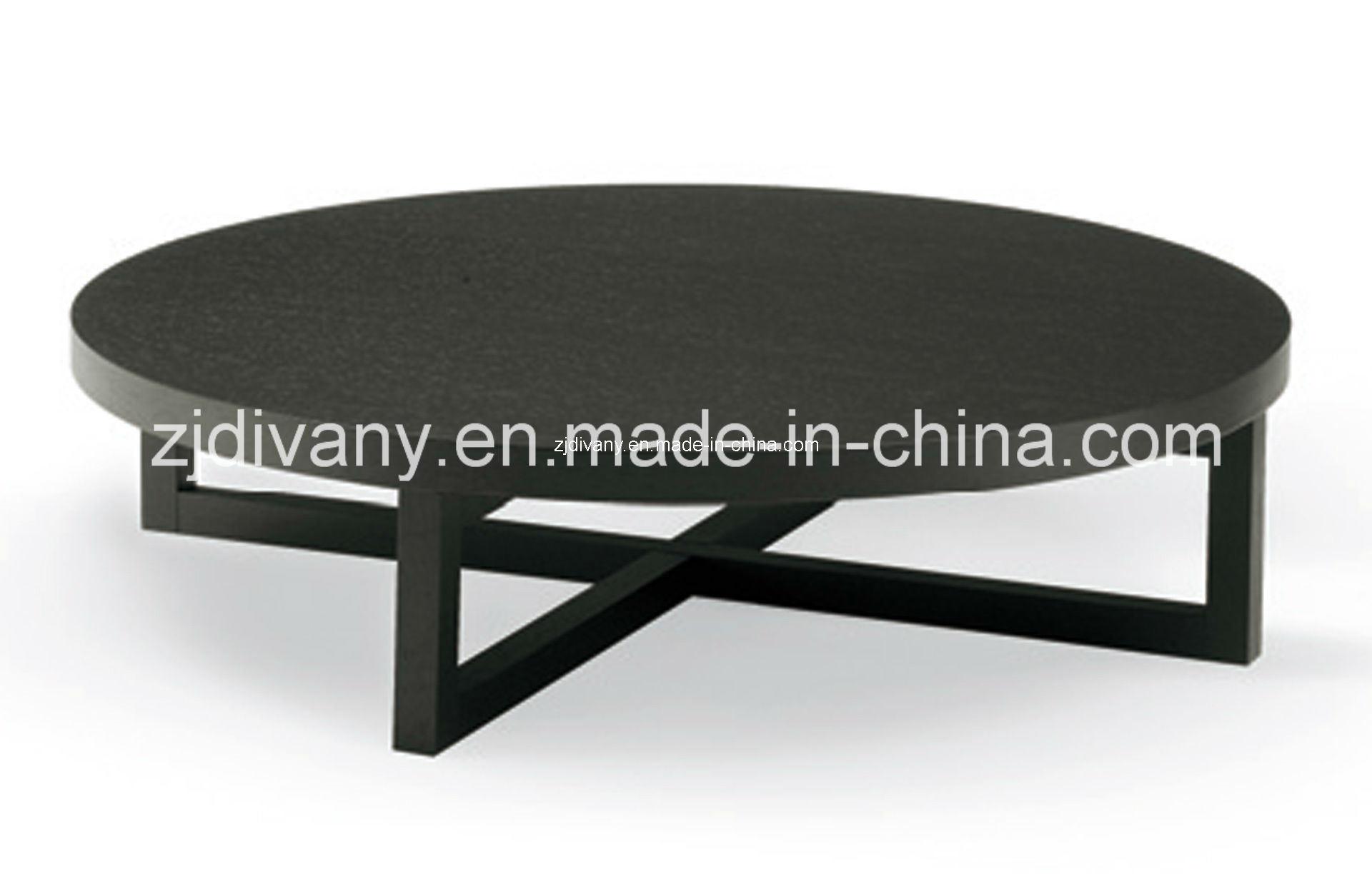 China Ikea Style Modern Wooden Round Coffee Table Ta China