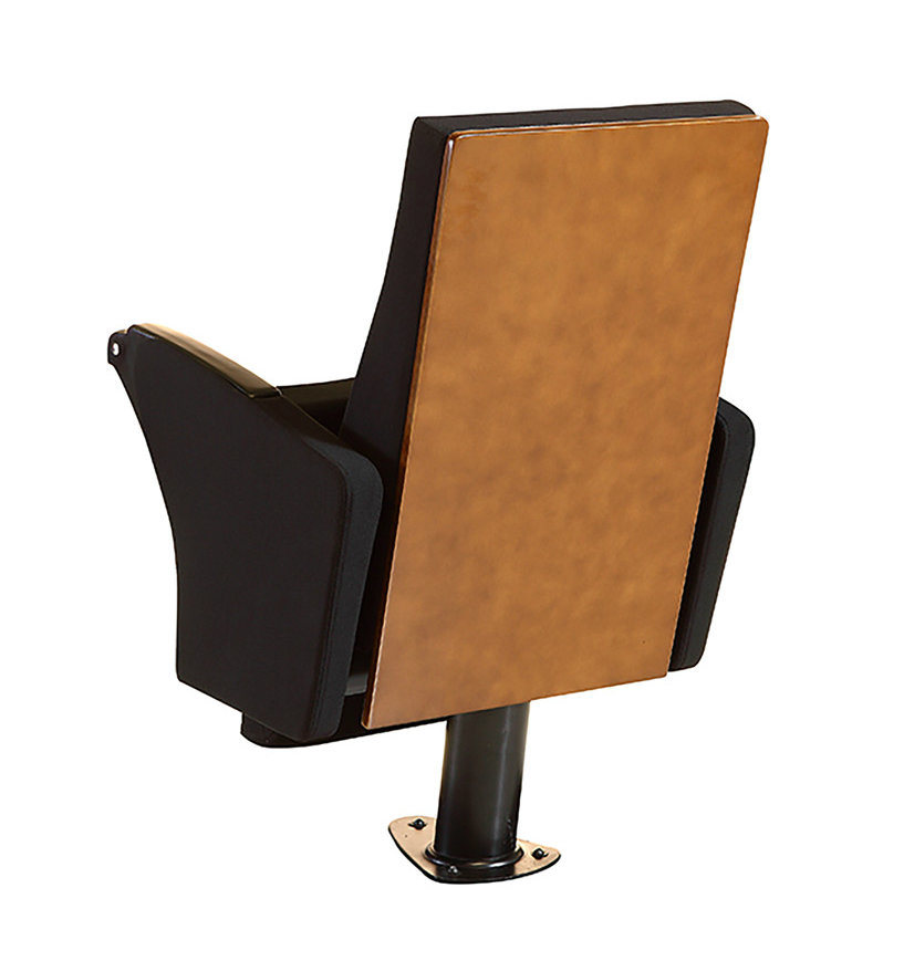 School Auditorium Conference Chair with A3 Size Writing Tablet