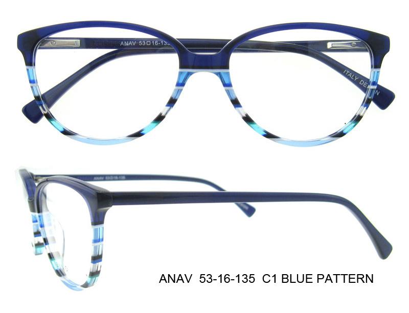2016 New Design Fancy Beautiful Optical Frames Eye Glasses Frame Italy Designer