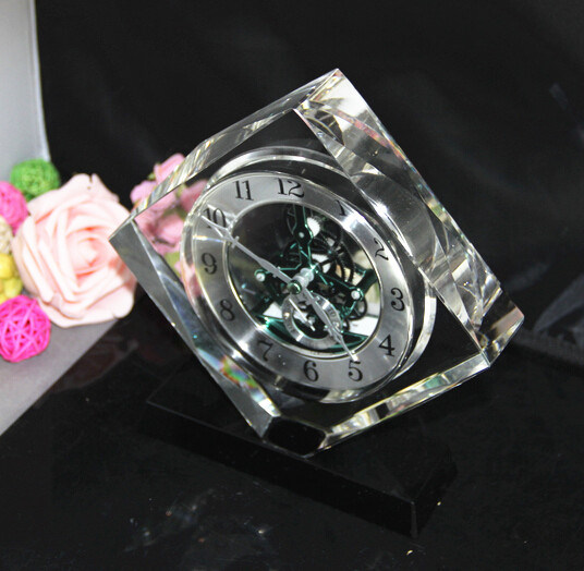 New Style Crystal Glass Clock (K06052)