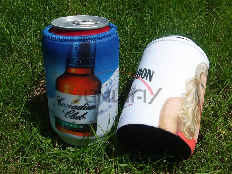 Customized Neoprene Beverage Beer Stubby Cooler Can Holder Bottle Koozie (BC0075)