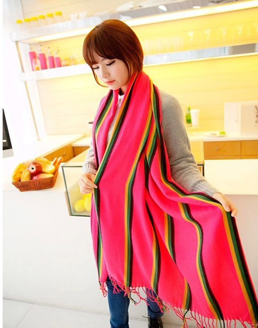 Wholesale Fashion Autumn Women Printing Silk Scarf
