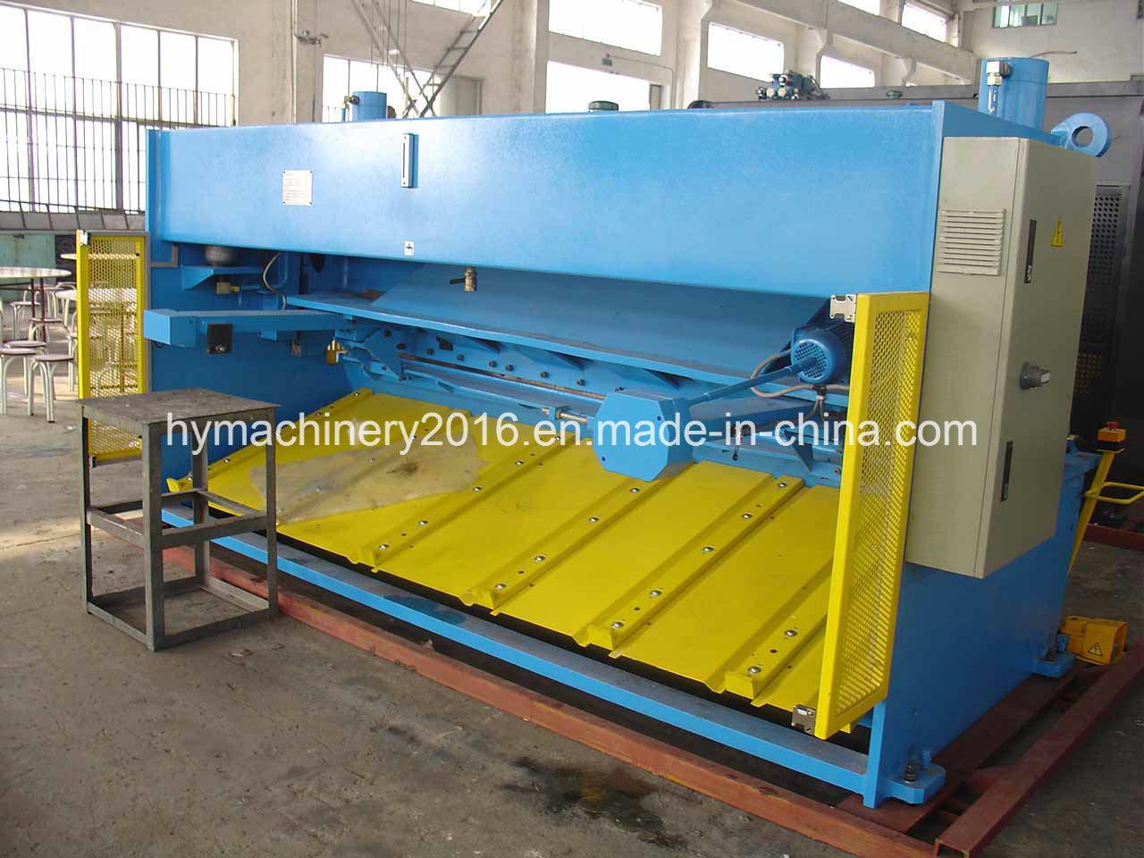 QC11y-12X2500 E21s Control Hydraulic Guillotine Shearing Machinery