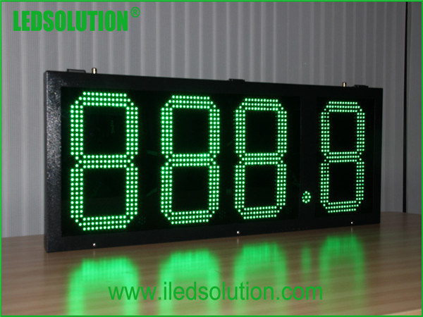 15inch RF Control Outdoor LED Price Digital Gas Station Display