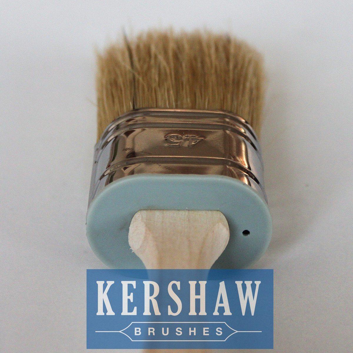 Paint Brush (Oval Brush White Bristle Paint Brush With Wood Handle, paintbrush)