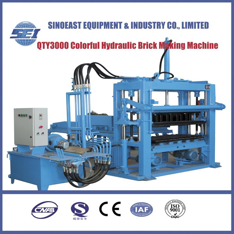 Qty3000 Multifunction Brick Making Machine