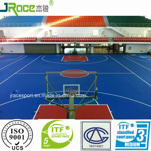 Multi-Purpose Futsal Court Flooring for Basketball Sport Surface