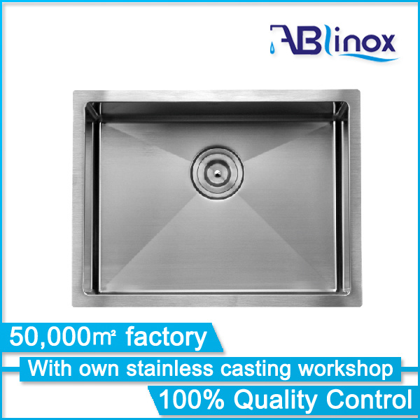 Kitchen Ware Stainless Steel Handmade Kitchenware Sink ABS109