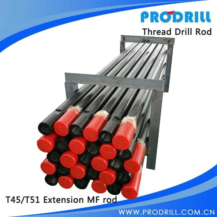 Extension Drifter Speed Mf mm Threaded Drill Steel Rod