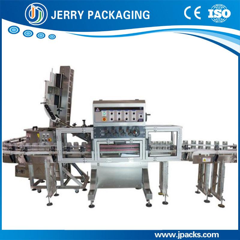 Factory Supply Automatic Inline Twisting Plastic & Aluminum Cap Capping Machine