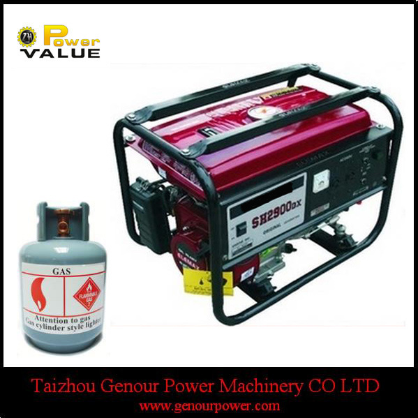 Cheap Price China 2.5kw Elemax CNG Generator (ZH3500CNEM)