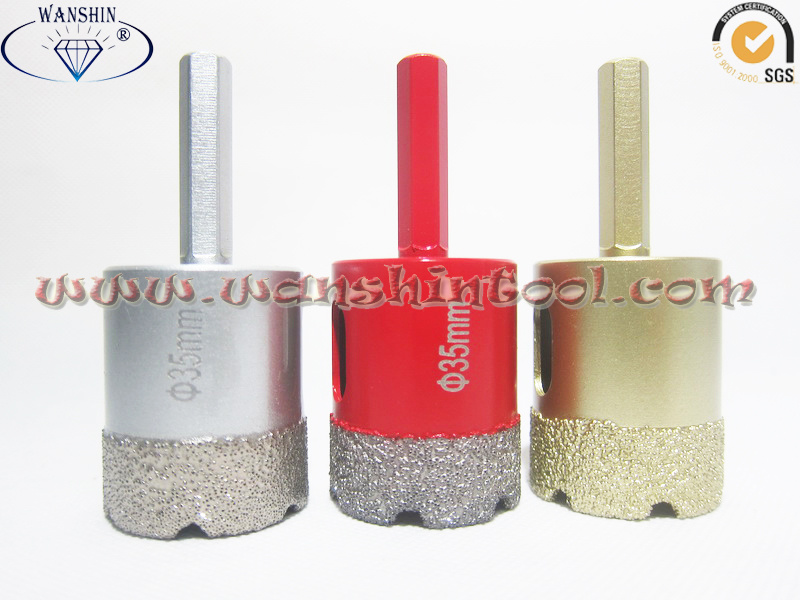 35mm Hex Dry Drill Bit for Granite&Ceramic