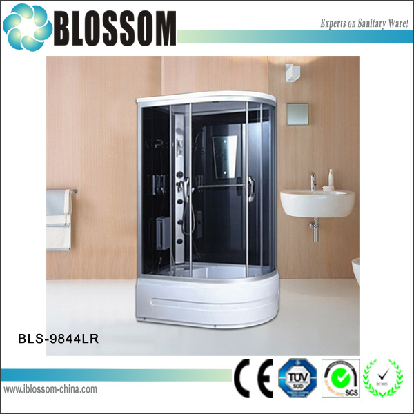 Sliding Door Portable Jacuzzi Shower Cabin/Enclosure (BLS-9844 LR)