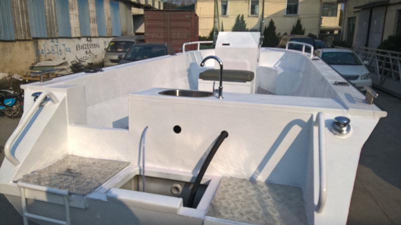 2016 New Beautiful Aluminium Fishing Boats (OVS5-18)
