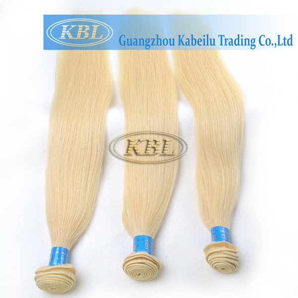 European 613# Blond Color Human Hair Bundle