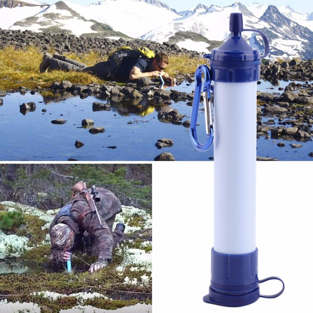 Portable Personal Water Filter Purifier for Any Outdoor Excursion