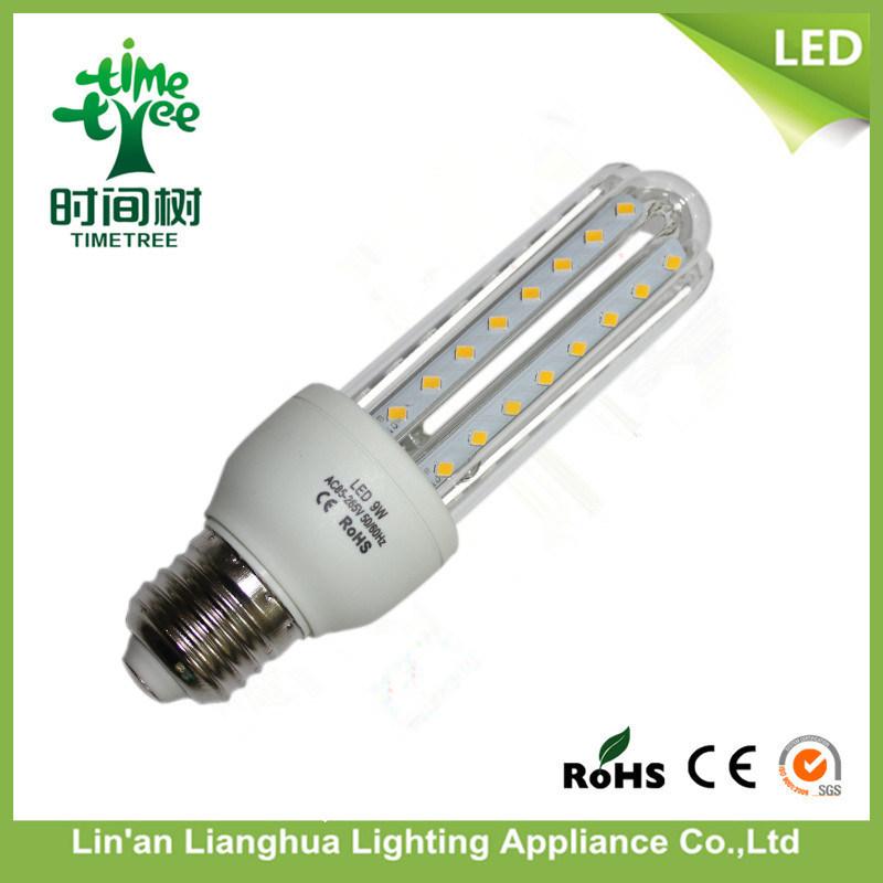 3u Lampada LED 3u 9W LED Corn Bulb Lamp with Base E27 6500k