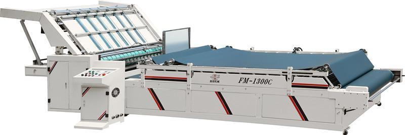 FM Model Semi-Automatic Flute Laminating Machine