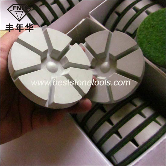 Resin Dry Diamond Floor Polishing Pad for Stone Concrete Grinding