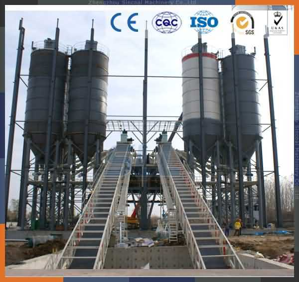 Hzs60 Concrete Mixing Plant Equipment Factory for Cement