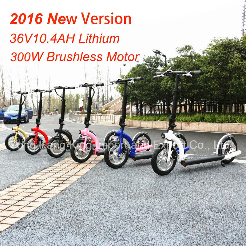 300W New Portable Alloy Foldable Electric Scooter