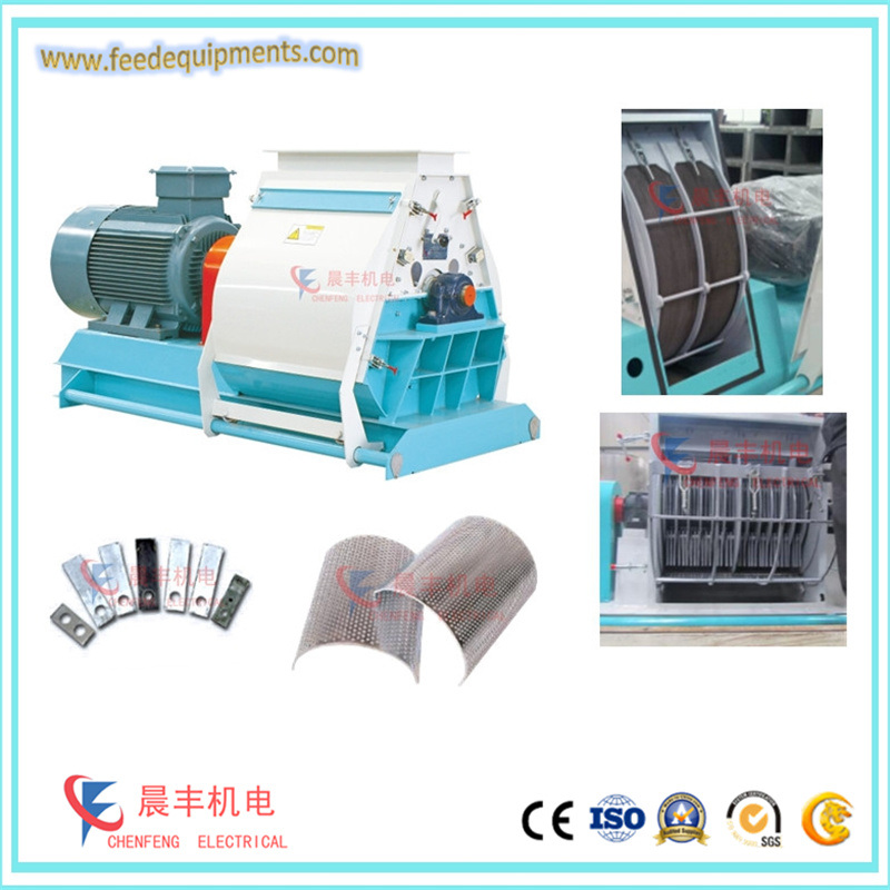 Flour Powder Milling Machine From Oat for Animal Feed