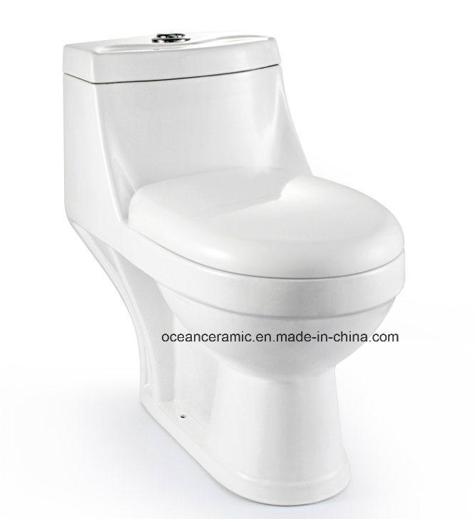 012 Hot Sale Washdown One Piece Toilet, Sanitary Ware